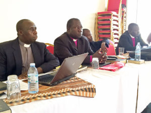 Pentecostal and Baptist bishops of the Church Malaria Project