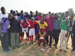 AA Initiative Group with the Pamba soccer teams